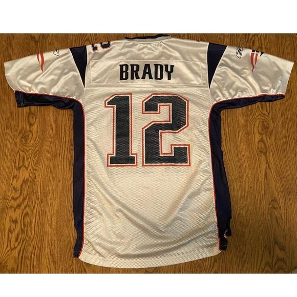 Tom Brady NE Patriots Super Bowl 39 Jersey Size M